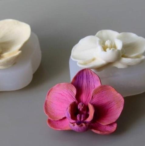 3D ОРХИДЕЯ МАЛЕНЬКАЯ силиконовый молд (70*50мм)