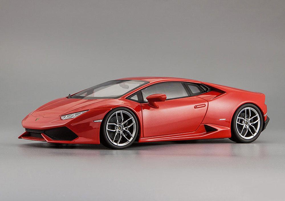 Коллекционная модель Lamborghini Huracan LP610-4 2014 Red Metallic