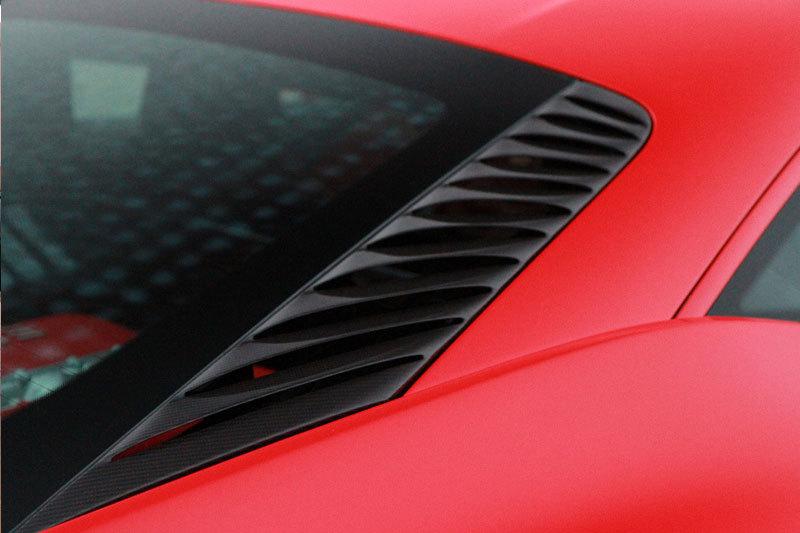 Карбоновая вентиляционная решетка в моторном отсеке для Ferrari 458 Italia