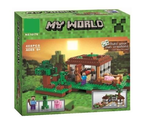 Конструктор My World 10176 Первая ночь