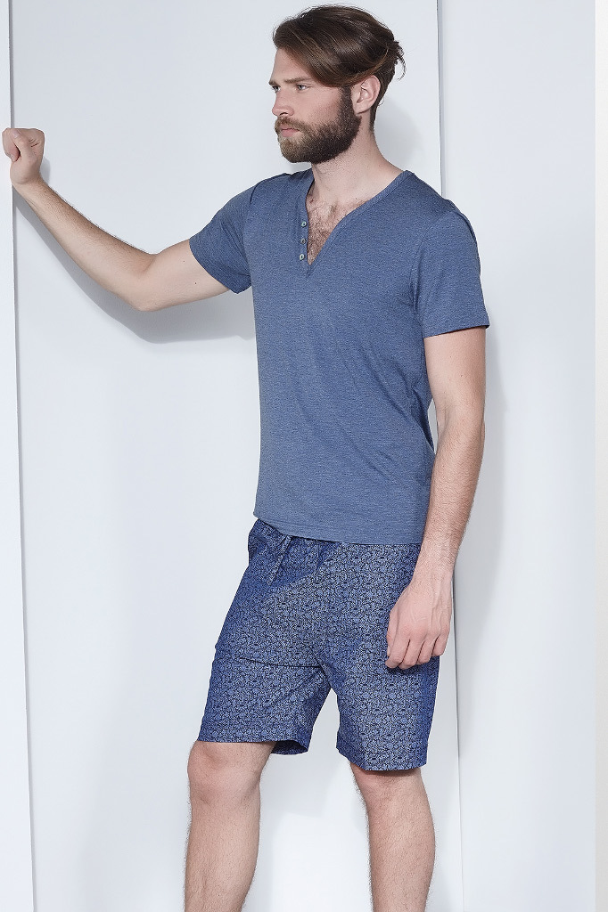 Мужская пижама с шортами Verdiani