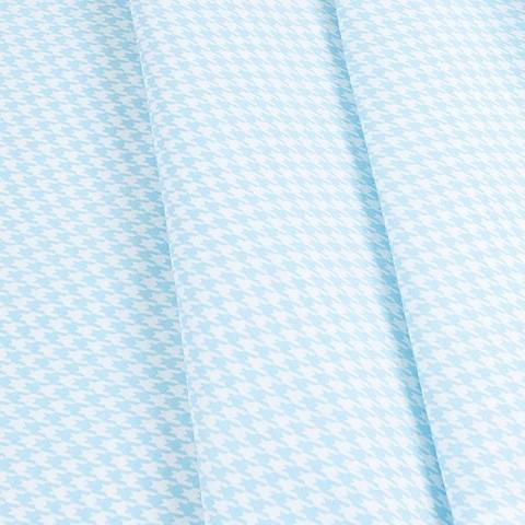 Бязь плательная 150 см 1747/6 цвет голубой