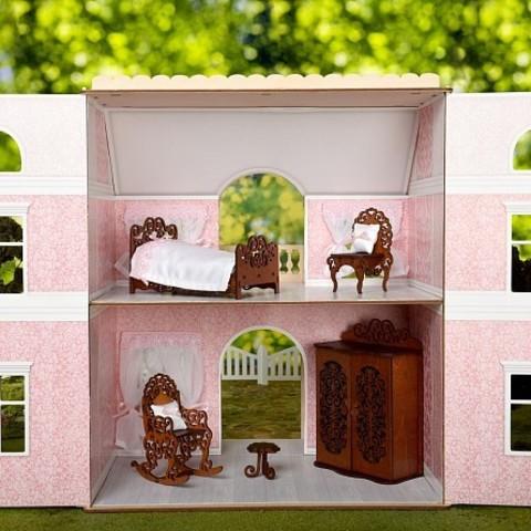 ЯиГрушка Набор для интерьера кукольного домика