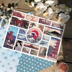 Набор стикеров PACK PACK WHITE JAPAN