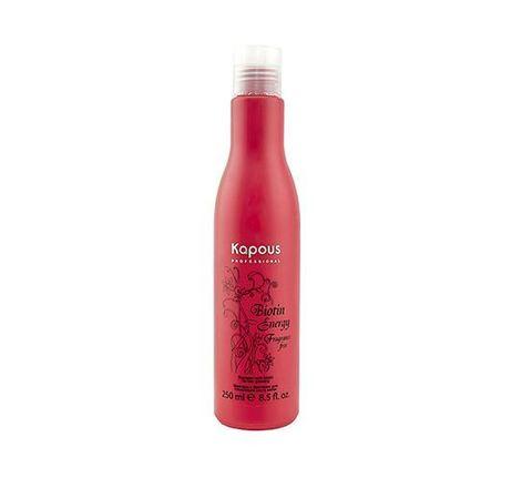 Kapous, Шампунь с биотином для укрепления и стимуляции роста волос, 250 мл