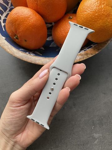 Ремешок Apple watch 42/44mm Sport Band /gray/ серый