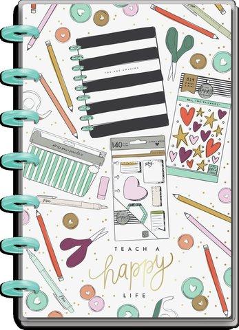Блокнот в точку -Be Happy Mini Happy Notes Notebook-60л
