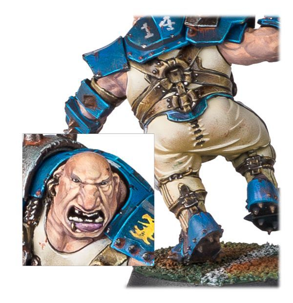 Blood Bowl Ogre. Детали