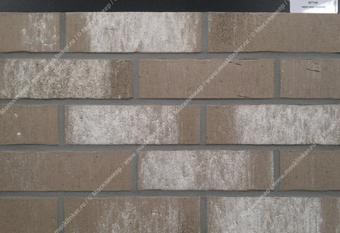 Feldhaus Klinker - R771NF14, Vascu Argo Cremato, 240х71х14 - Клинкерная плитка для фасада и внутренней отделки
