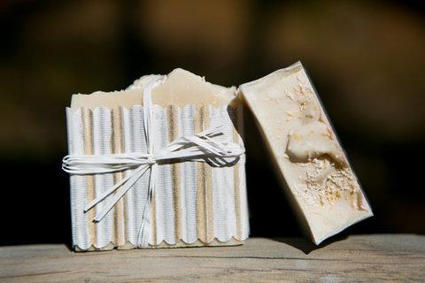 Органическое мыло Кокос и сливки