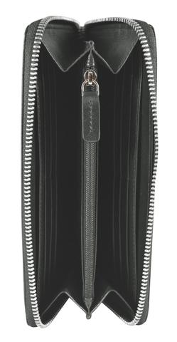 Кошелек Cross RTC, кожа наппа, серый, 18,8x10,2x1,5 см
