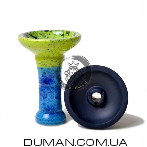 Чаша GrynBowls для кальяна |Collon Blue-Green