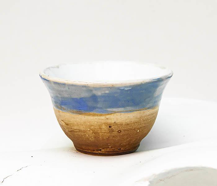 CUP116 Глиняная пиала для чая ручной работы