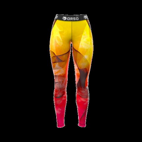 купить женские леггинсы orso firefox для фитнеса единоборств занятий спортом