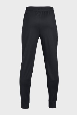 Детские черные спортивные брюки UA PENNANT TAPERED Under Armour