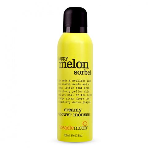 Treaclemoon Мусс для душа Дынный сорбет Happy melon sorbet shower mousse, 200 ml LD1F1068