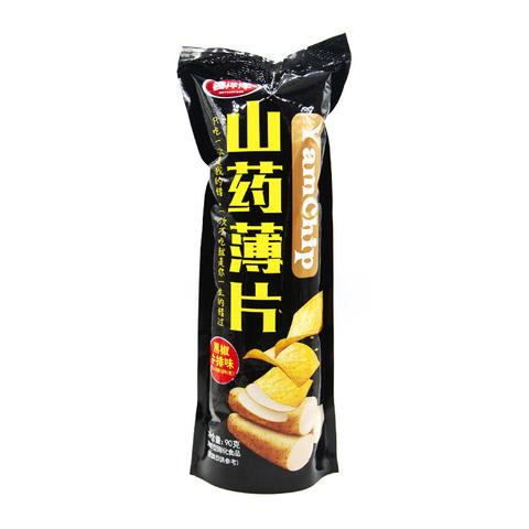 Чипсы из ямса YamChip Sangenshanyao со вкусом говядины с перцем 90 гр