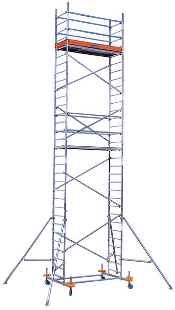 PROTEC Передвижные подмости. рабочая высота 8,3 м
