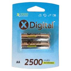 Аккумуляторы X-Digital R6, AA, 2500mAh, Ni-MH