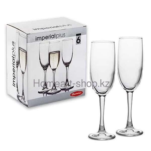 Бокалы для шампанского imperial plus 6*4