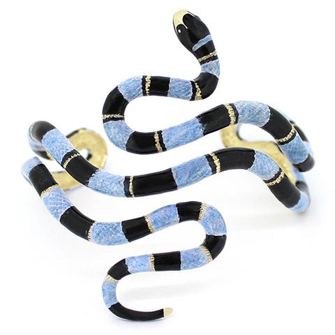 Браслет Змея (синяя)