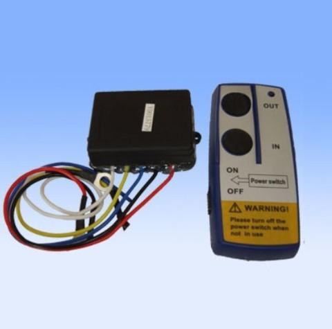 Беспроводной пульт ДУ для управления лебёдкой с электроприводом