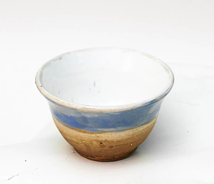 CUP116 Глиняная пиала для чая ручной работы фото 02