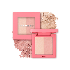 Румяна CORINGCO Pink Square Dual Highlighter 10g