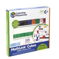 LSP4299-UK Соединяющиеся кубики. Академия математики, Learning Resources