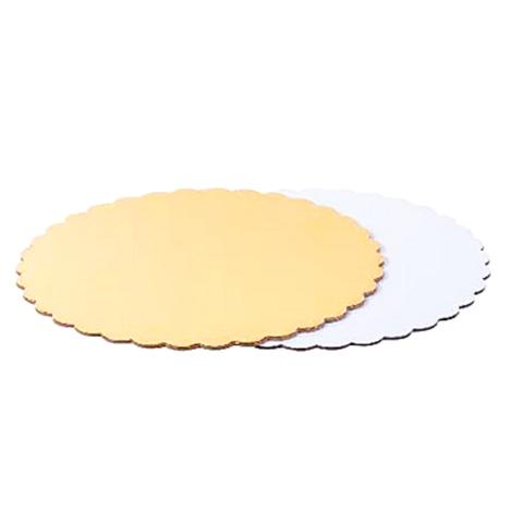 Подложка усиленная Ромашка 3,2мм. (золото/белая) d.22см.