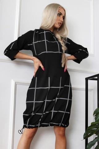 Платье Alekssandra 3315 Флоу клетка (В21)