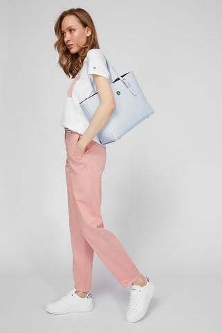 Женские розовые брюки CO MODERN TAPERED CHINO Tommy Hilfiger