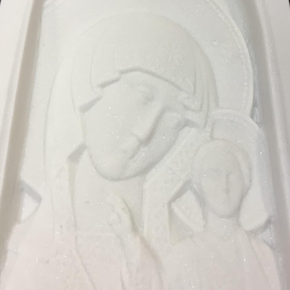 Мраморная икона (фото №2)