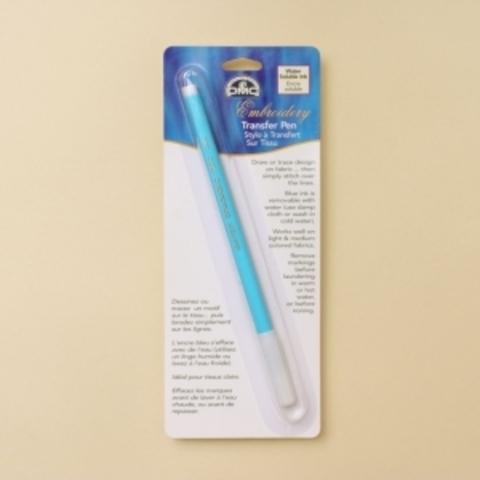 Маркер смывающийся для ткани синий DMC