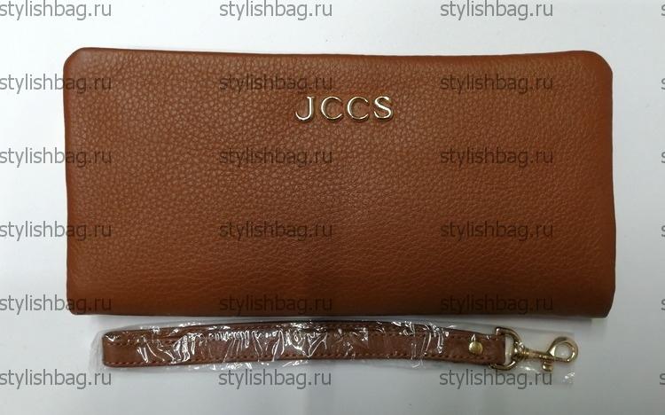 Рыжий кошелек на молнии JCCS js-3205ryzhiy
