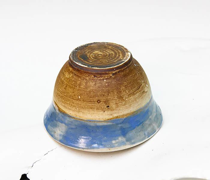 CUP116 Глиняная пиала для чая ручной работы фото 03