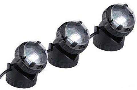Подсветка подвод./надвод.JPL1-3 LED (3шт) 12V 10W светодиды