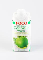 Вода кокосовая, Foco, 330 мл