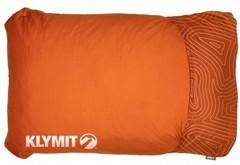 Подушка надувная Klymit Drift Camp Pillow Large оранжевая 12DROR01D