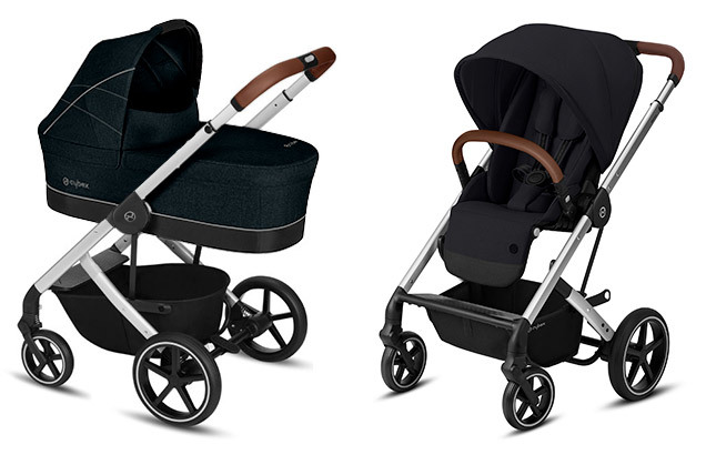 Cybex Balios S 2 в 1, для новорожденных Детская коляска Cybex Balios S Lavastone Black + Balios S Lux SLV SLV-balios-s-2-in-1-lavastone-black-deep-black.jpg