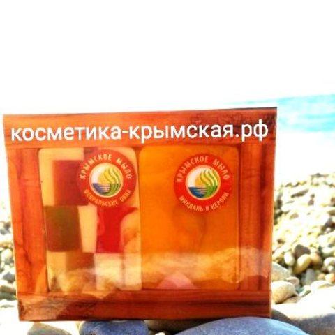 Набор мыло «Февральское окна» и «Миндаль и нероли»™Фитон-Крым