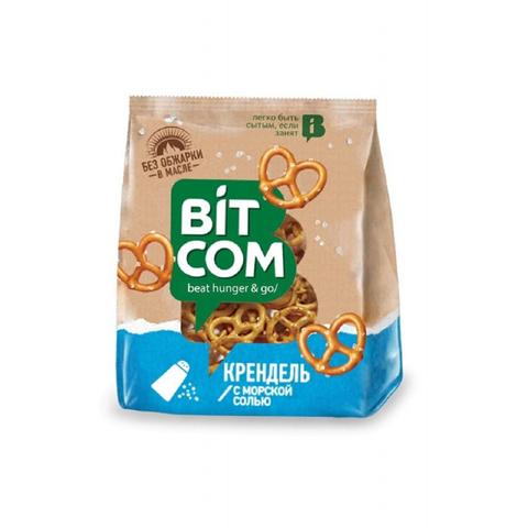 Сушки Крендель с морской солью Bitcom, 130г