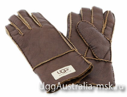 UGG Men's Glove Metallic Chocolate