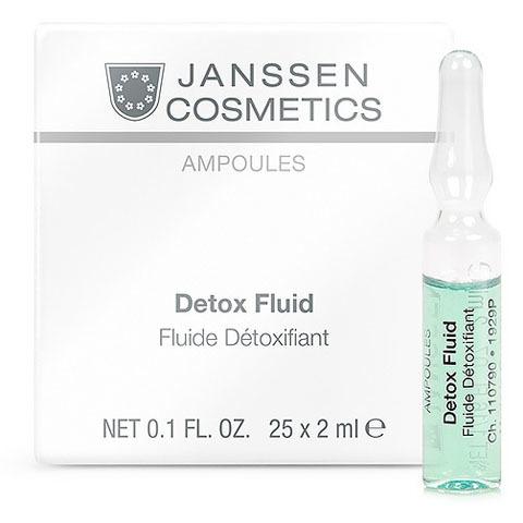 Janssen Ampoules: Детокс-сыворотка в ампулах (Detox Fluid)
