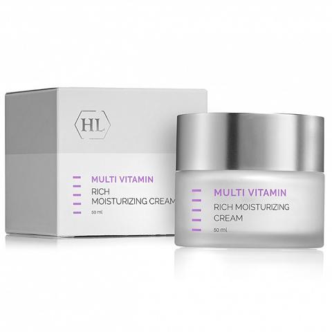 Holy Land Multivitamin: Увлажняющий крем для лица с комплексом витаминов (Rich Moisturizing Cream)