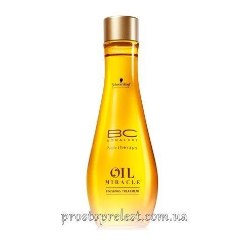Schwarzkopf BC Oil Miracle Finishing Treatment - Олія для нормального і жорсткого волосся
