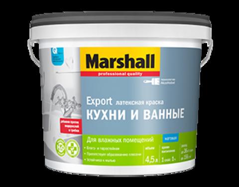 Marshall Краска повышенной влагостойкости для кухни и ванной