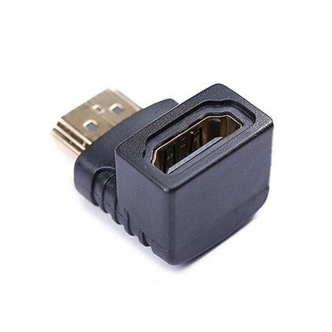Переходник HDMI (мама)-HDMI(папа) угловой
