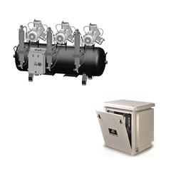 AC900 безмаcляный компрессор (12 установок - 3х3 цилиндра) Cattani