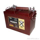 Тяговый аккумулятор Trojan SCS200 ( 12V 115Ah / 12В 115Ач ) - фотография